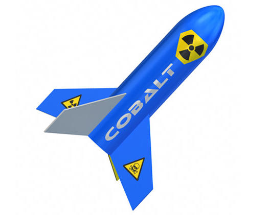 Quest Aerospace Cobalt Rocket Kit (Skill Level 1)