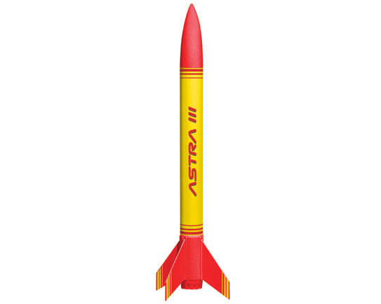 Quest Aerospace Astra III Quick Rocket Kit (Skill Level 1)