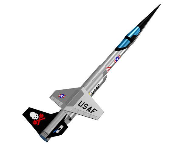 Quest Aerospace SHX Stilleto Rocket Kit (Skill Level 2)