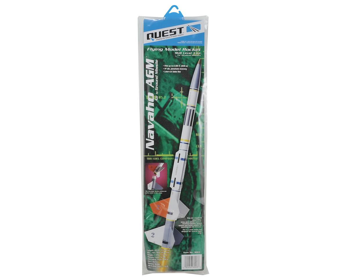 Quest Aerospace Navaho AGM 2 Stage Rocket Kit (Skill Level 3)