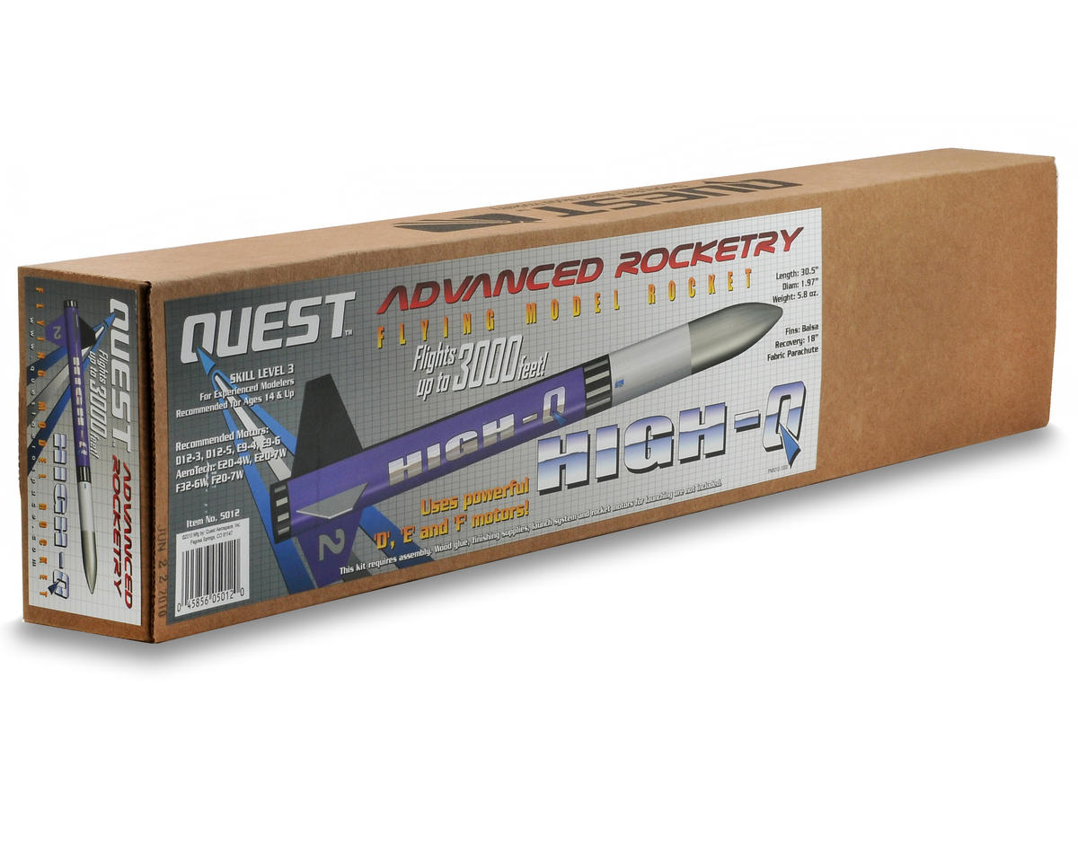 High-Q Rocket Kit (Skill Level 3) by Quest Aerospace