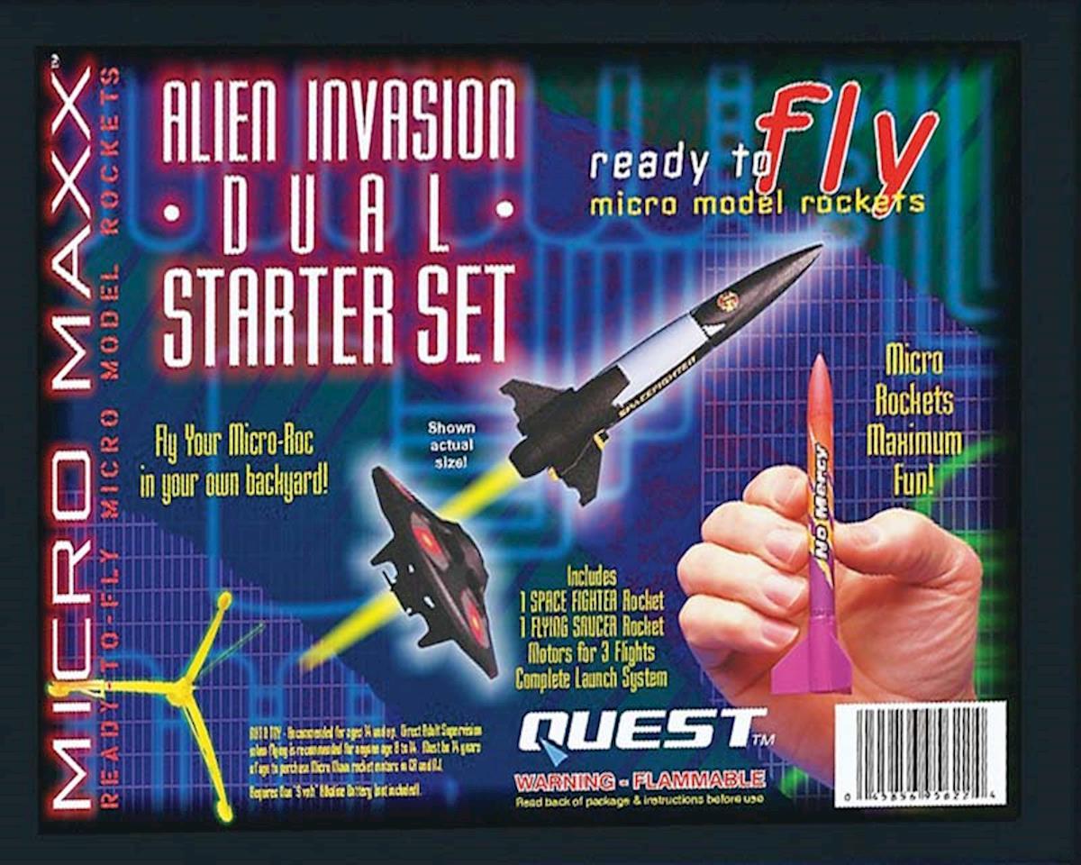 Quest Aerospace Micro Maxx Alien Invasion Dual Starter Set HAZ