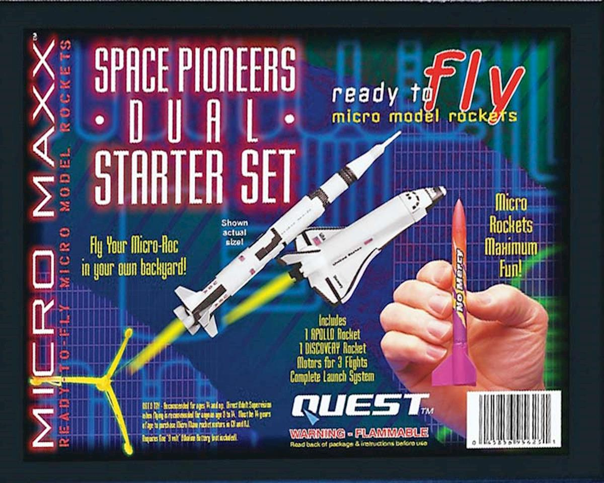 Micro Maxx Space Pioneers Dual Starter Set HAZ by Quest Aerospace