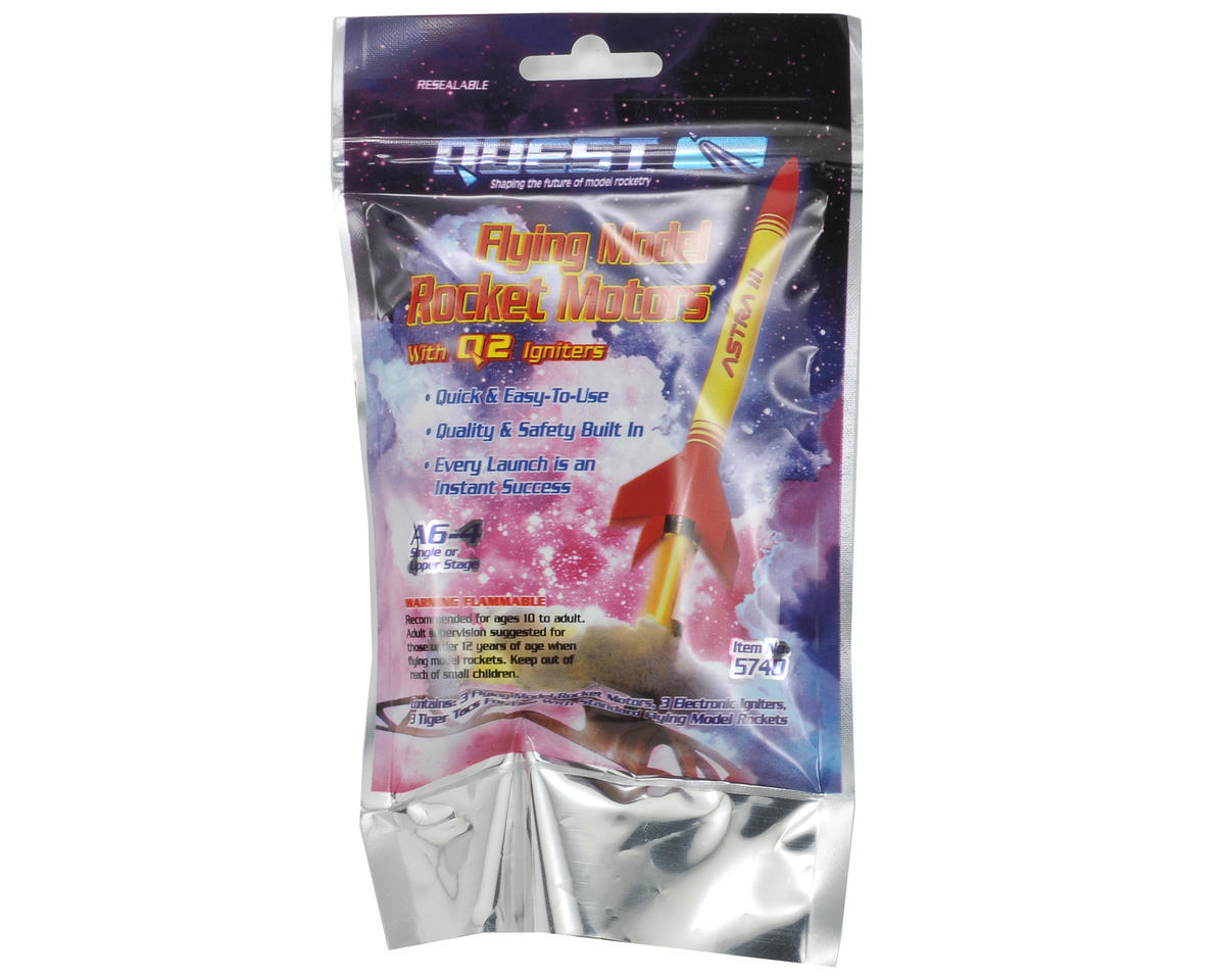 Quest Aerospace A6-4 Rocket Motor Flight Pack (3)