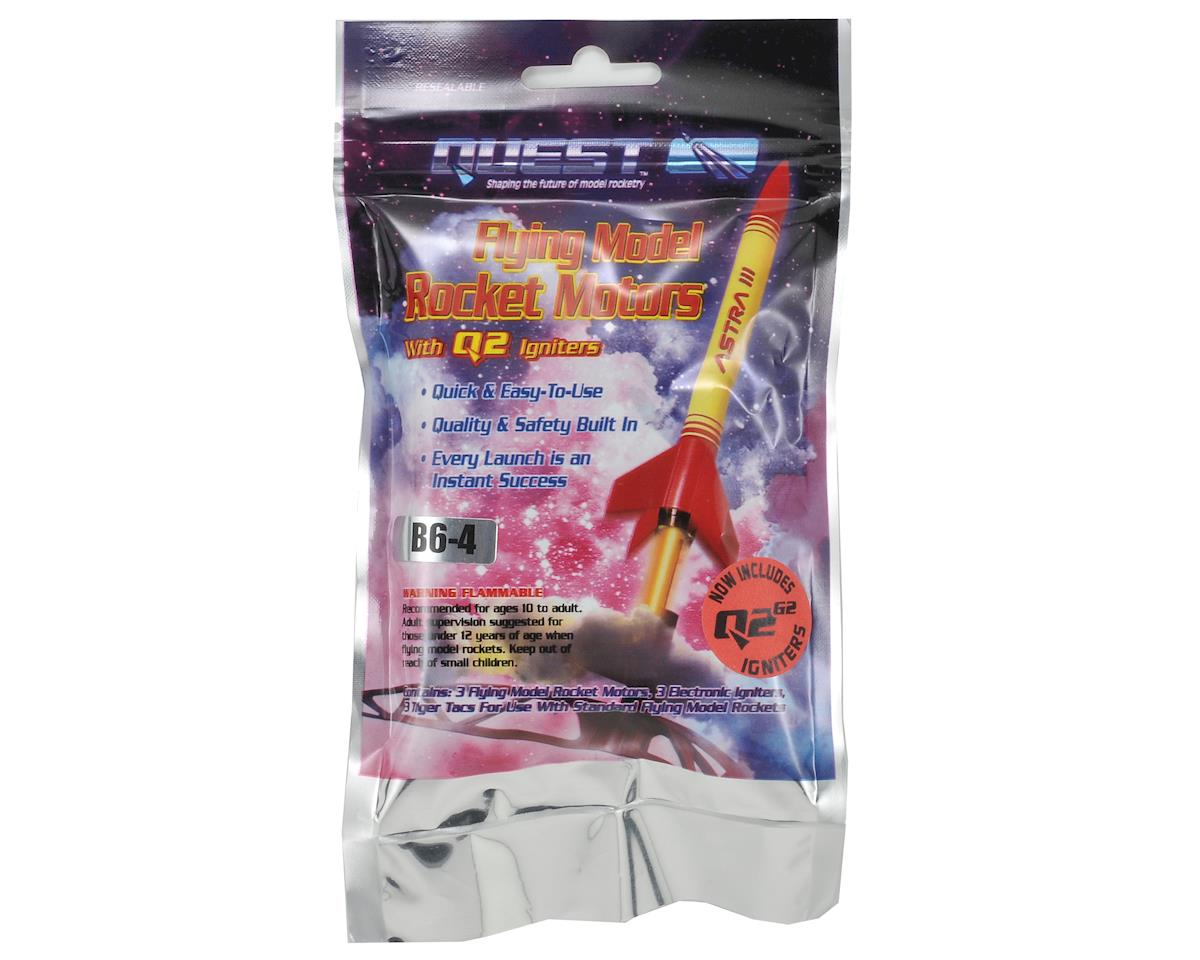 B6-4 Rocket Motor Flight Pack (3) by Quest Aerospace