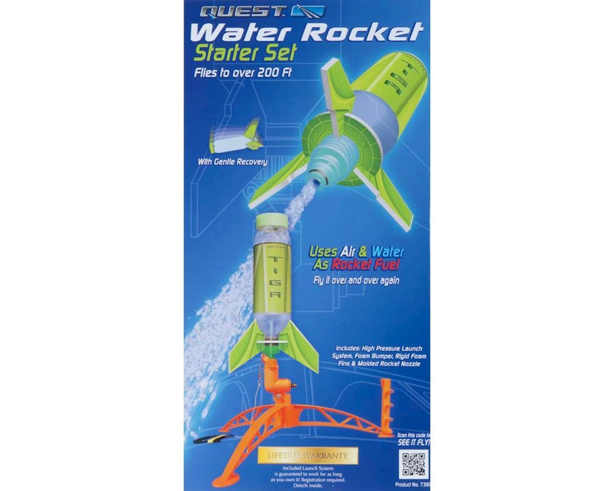 Quest Aerospace Deluxe Single Water Rocker Starter Set