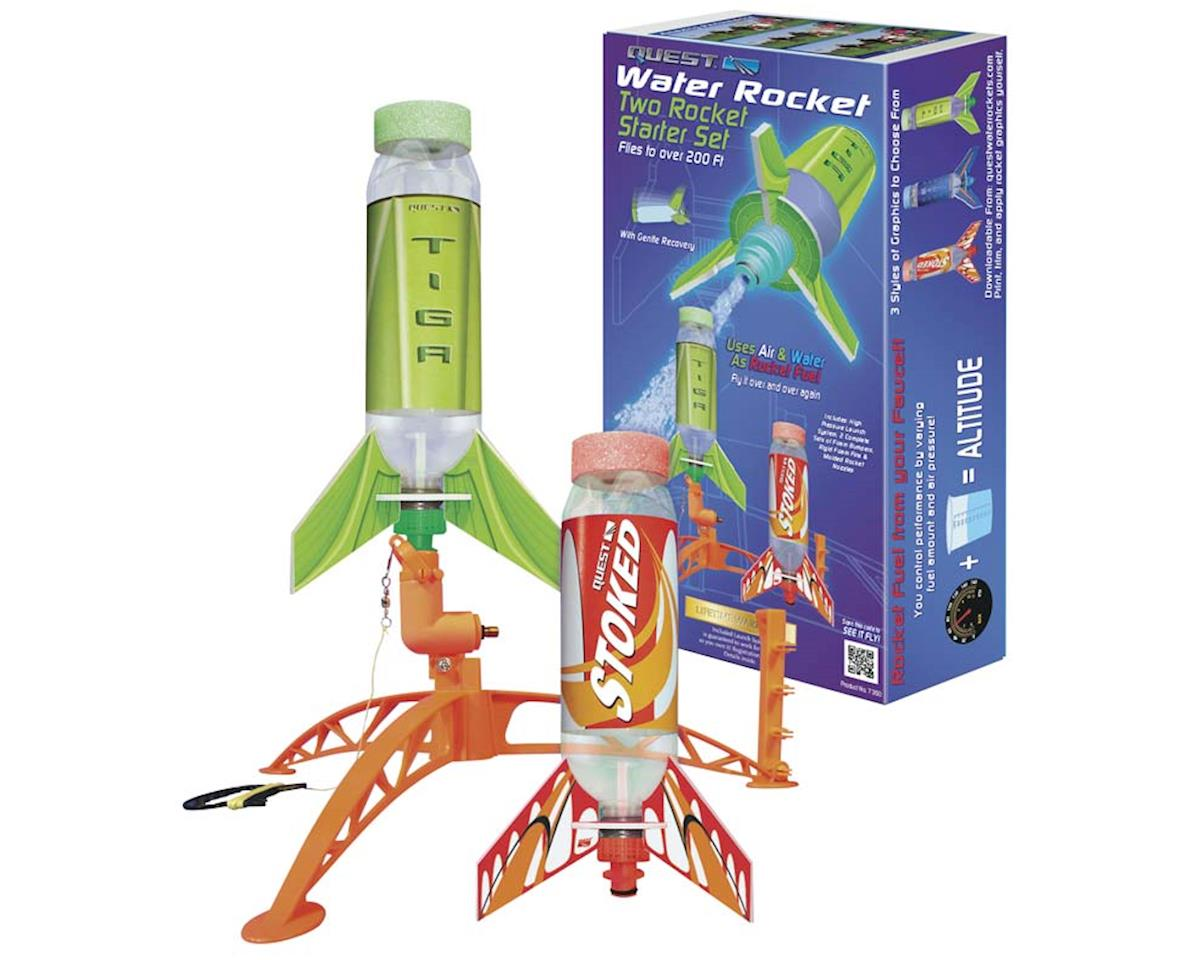 Quest Aerospace Water Rocket Two Rocket Starter Set