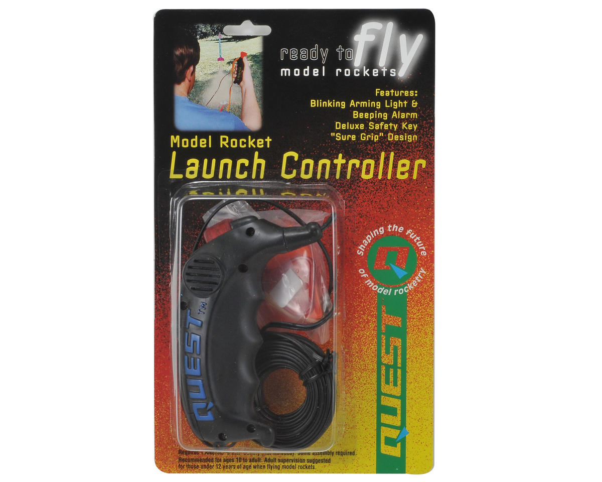Futuristic Rocket Launch Controller by Quest Aerospace
