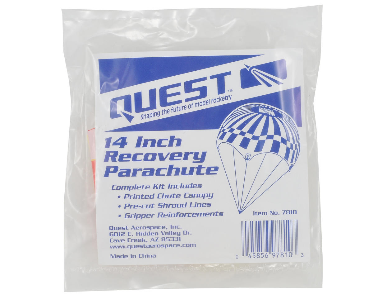 "Quest Aerospace 14"" Parachute Kit"