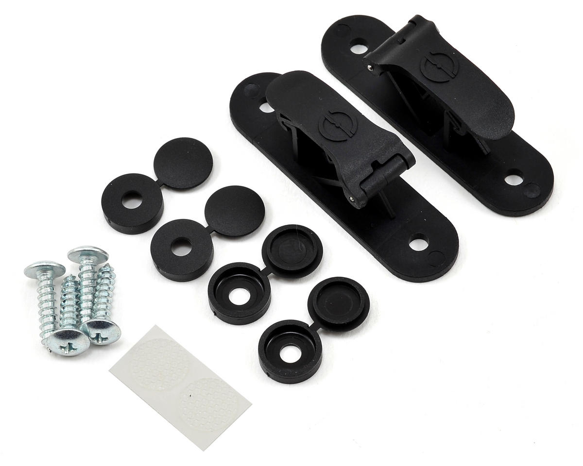 Random Heli Goblin 630/700/770 Skid Clamp Assembly (Black)