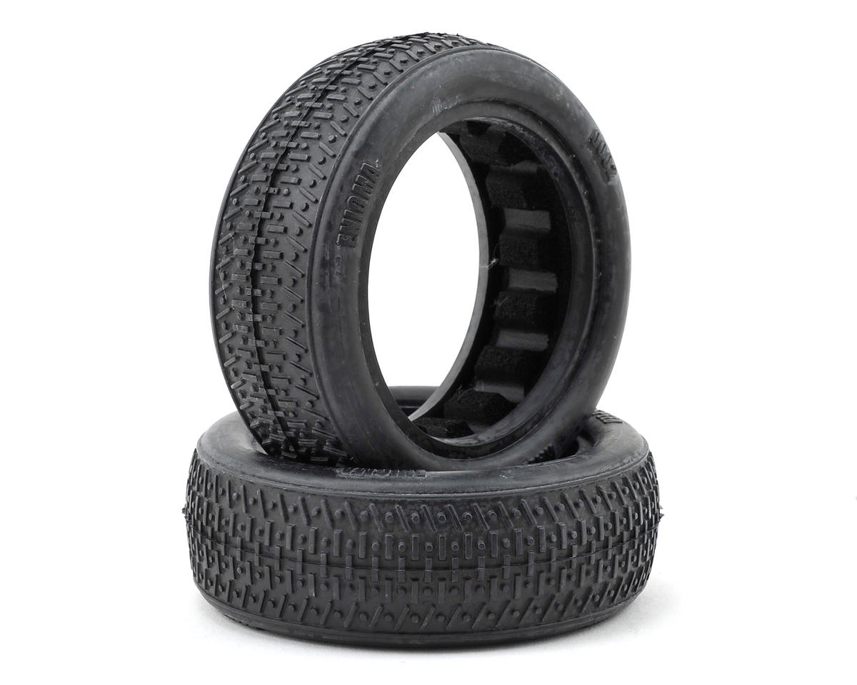 "Raw Speed RC Enigma 2.2"" 1/10 2WD Front Buggy Tires (2) (Clay)"