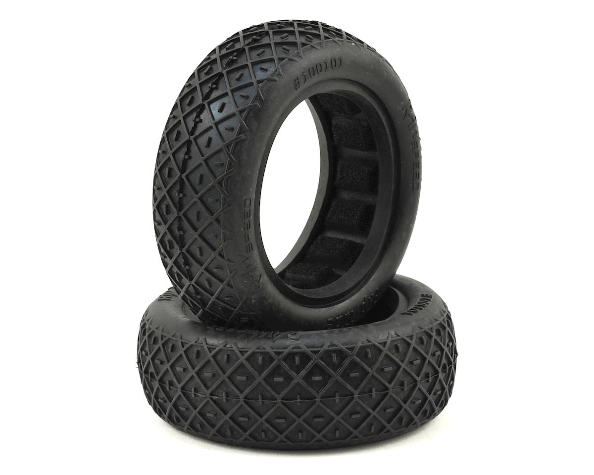 "Raw Speed RC ""Rip Tide"" 2.2"" 1/10 2WD Front Buggy Tires (2) (Clay)"