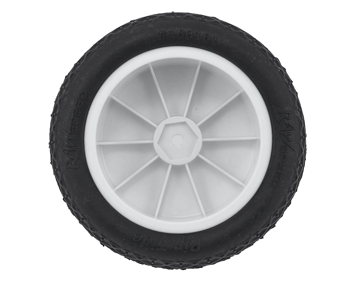 "Raw Speed RC ""Rip Tide"" 2.2"" 1/10 2WD Front Pre-Mounted Tire (White) (2) (Clay)"