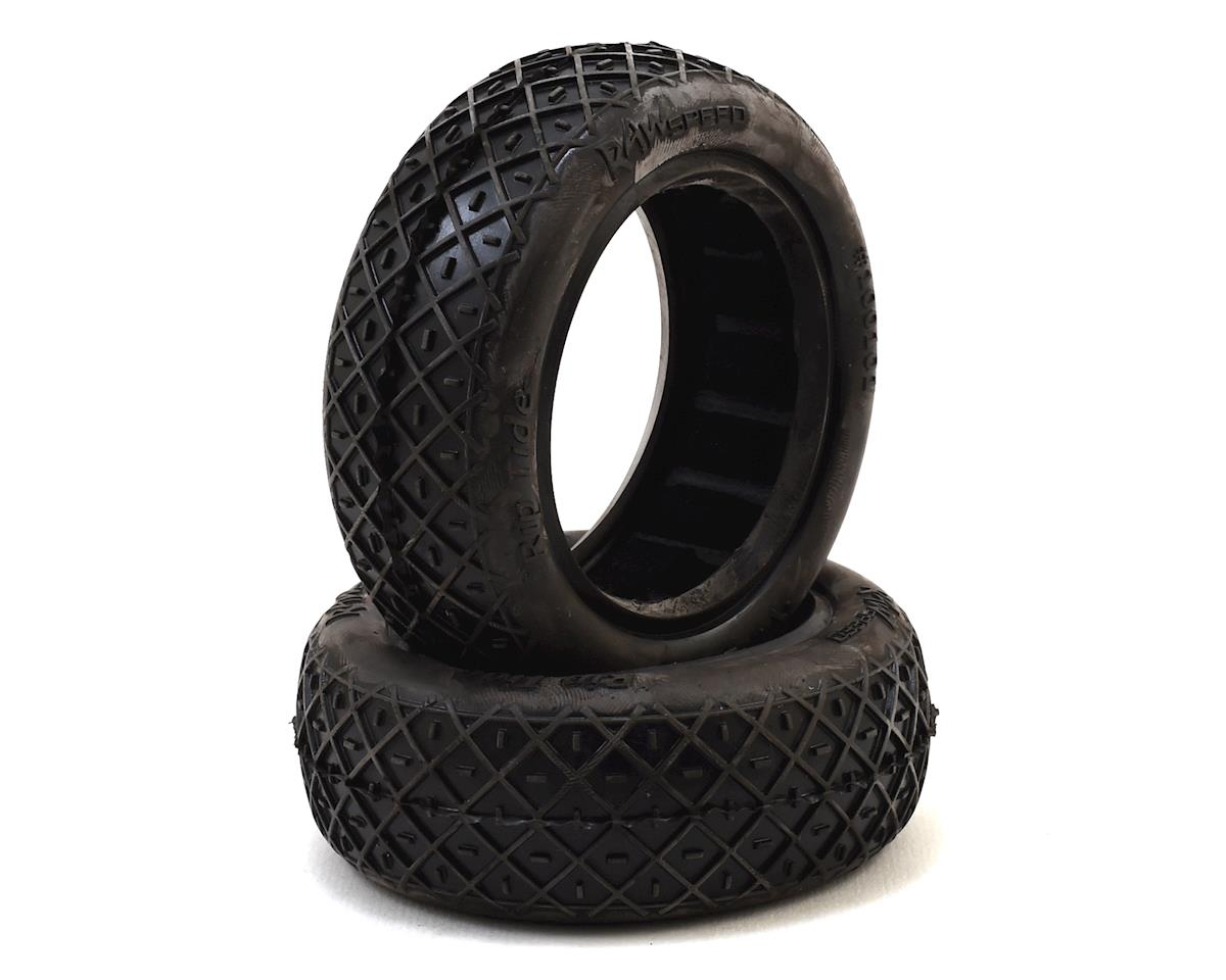 """Raw Speed RC """"Rip Tide"""" 2.2"""" 1/10 2WD Front Buggy Tires (2) (Super Soft)"""