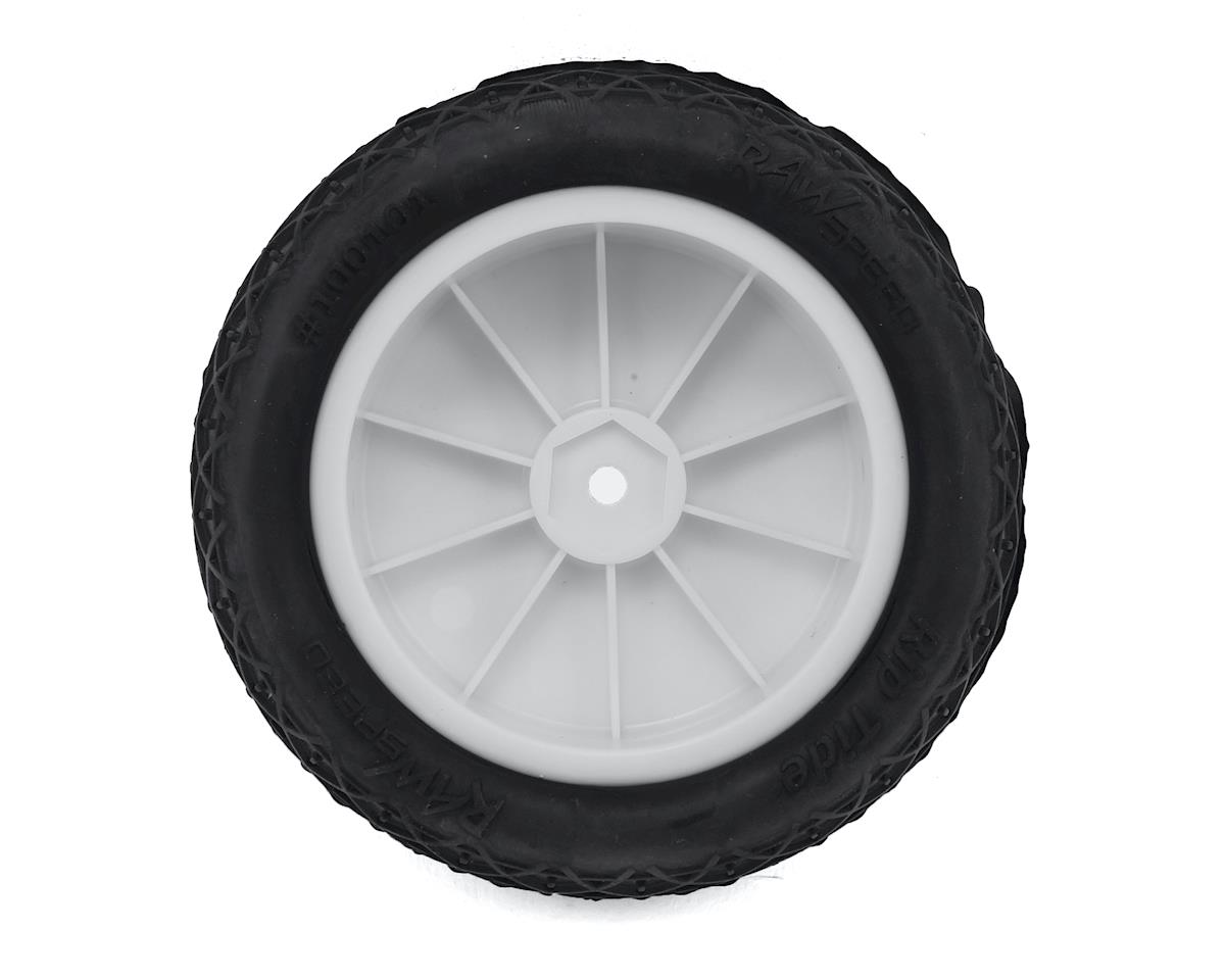 "Raw Speed RC ""Rip Tide"" 2.2"" 1/10 2WD Front Pre-Mounted Tire (White) (2) (Super Soft)"