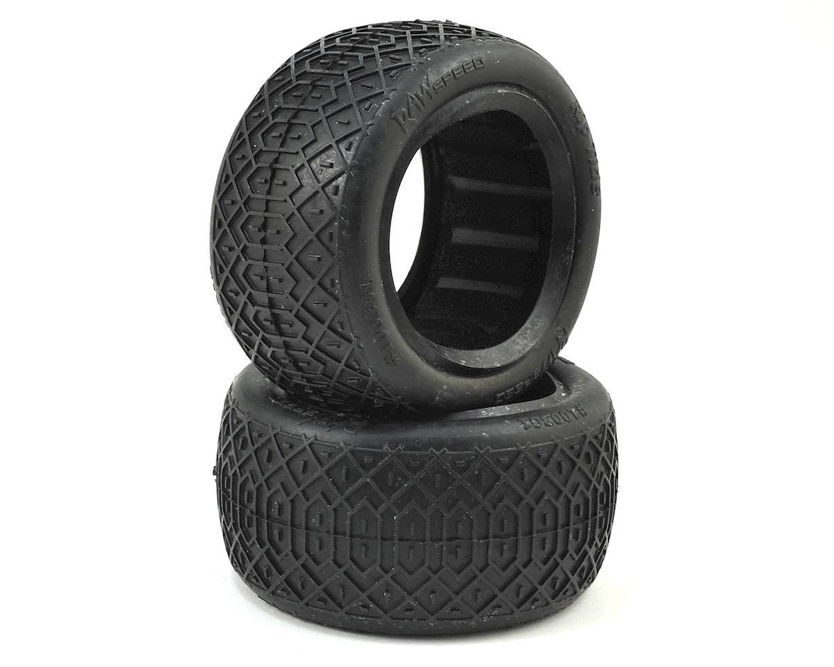 "Rip Tide 2.2"" 1/10 Rear Buggy Tires (2) (Clay) by Raw Speed RC"