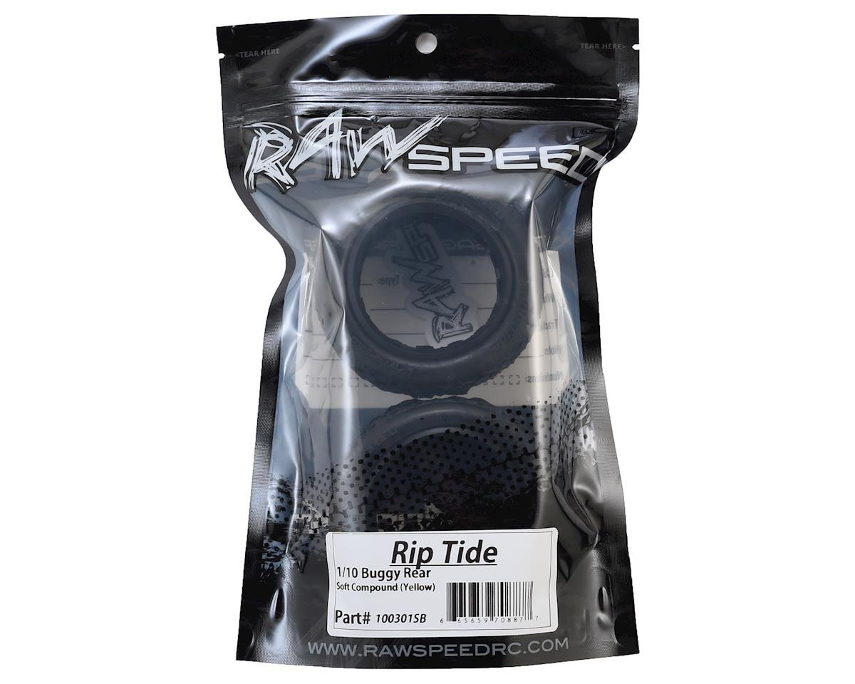 """Raw Speed RC Rip Tide 2.2"""" 1/10 Rear Buggy Tires (2) (Soft)"""