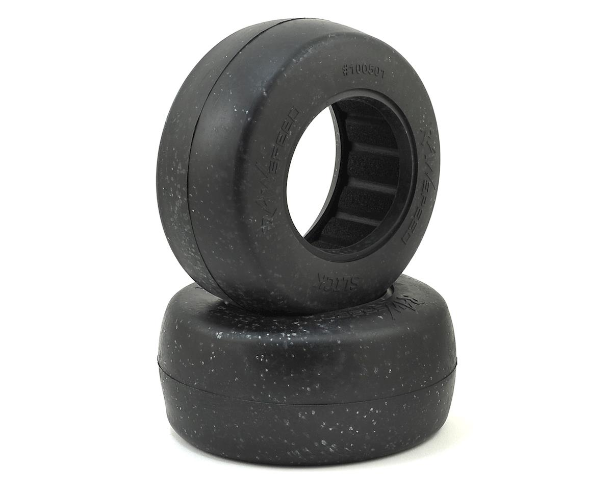 Raw Speed RC Slick Short Course Tires (Clay)