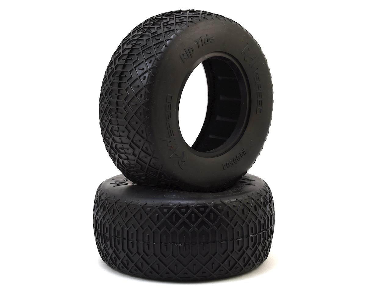 """Rip Tide"" Short Course Tires (2) (Soft) by Raw Speed RC"