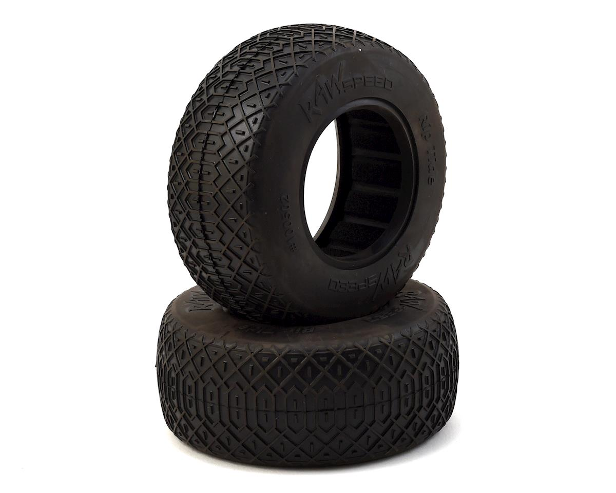 """Raw Speed RC """"Rip Tide"""" Short Course Tires (2) (Super Soft)"""