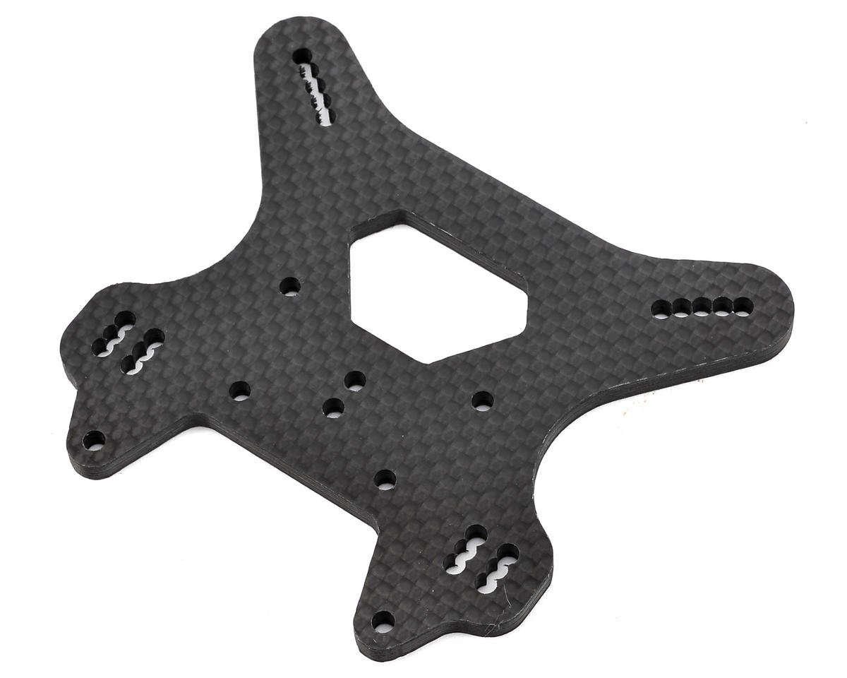 Raw Speed RC Mugen MBX7R Carbon Fiber Rear Shock Tower