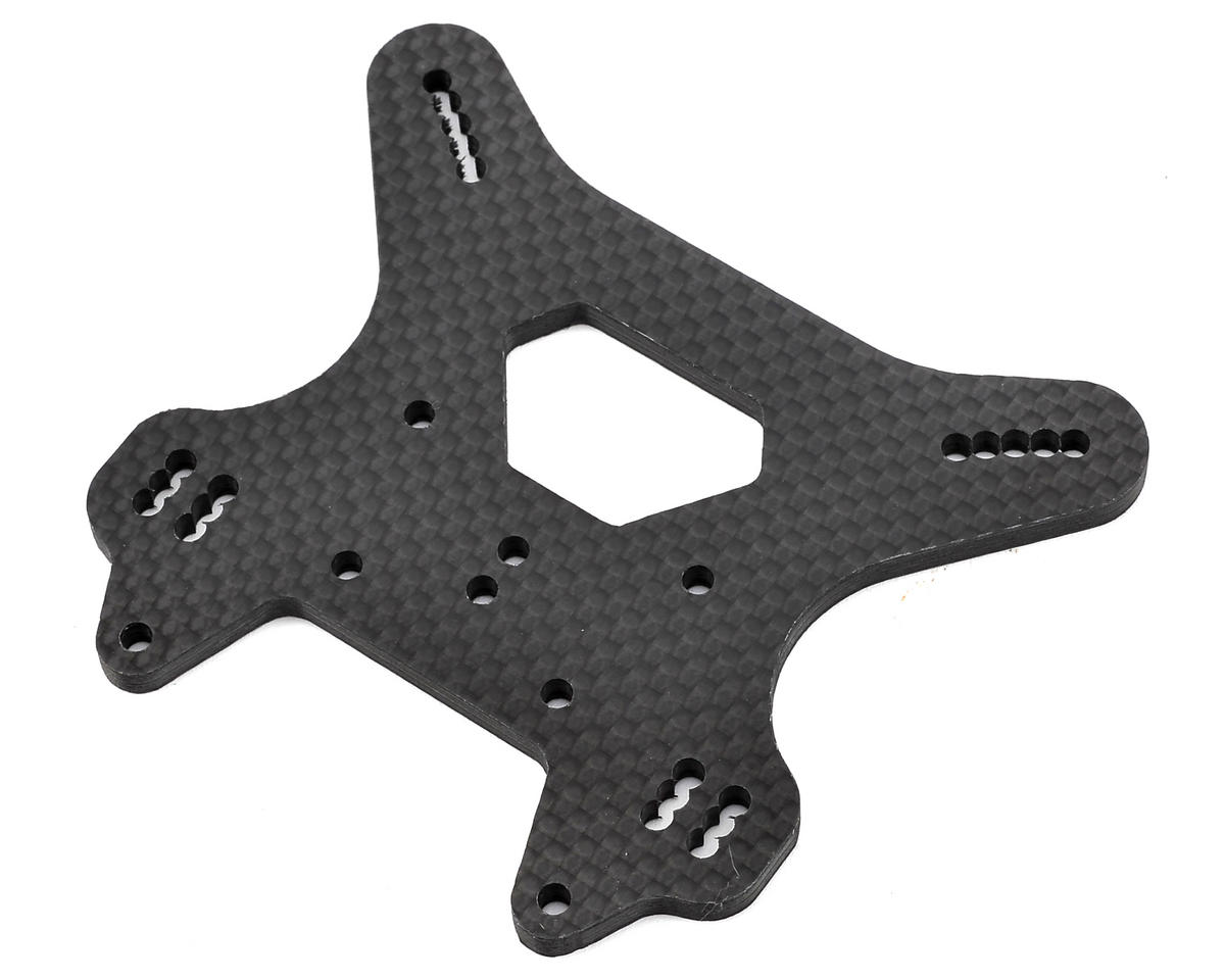 Mugen MBX7R Carbon Fiber Rear Shock Tower by Raw Speed RC
