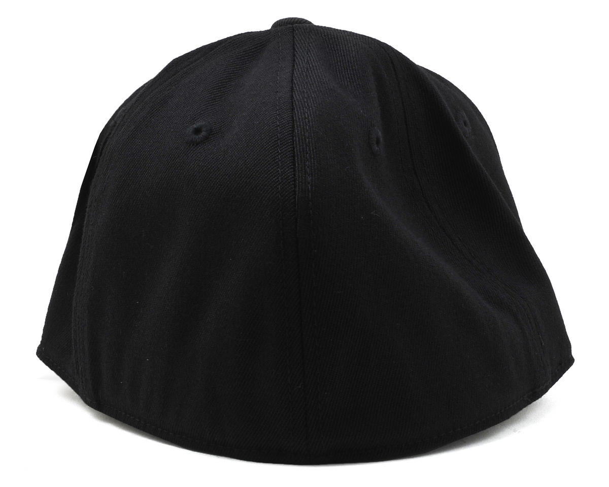 "Raw Speed RC Black ""Flatbill"" FlexFit Cap (S/M)"