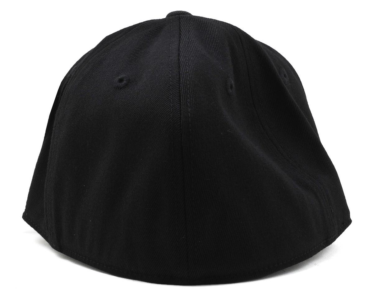 """Black """"Flatbill"""" FlexFit Cap (S/M) by Raw Speed RC"""