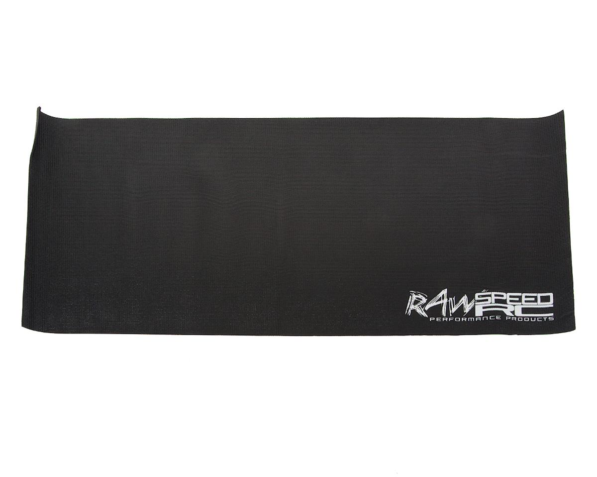 Raw Speed RC Gen 1 Pit Mat (Black) (61x122cm)