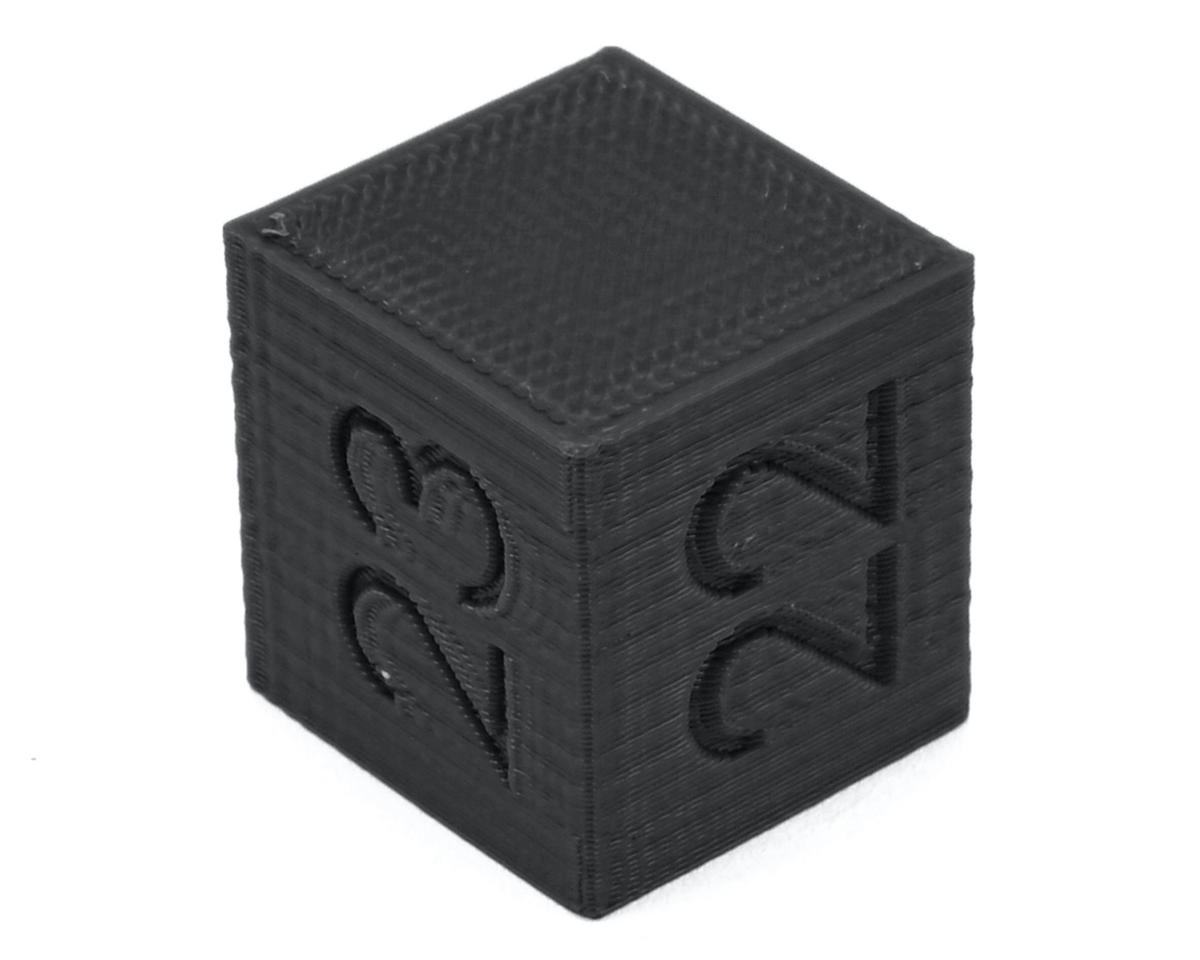 Ride Height Cube (22/23/24mm) (Black) by Raw Speed RC