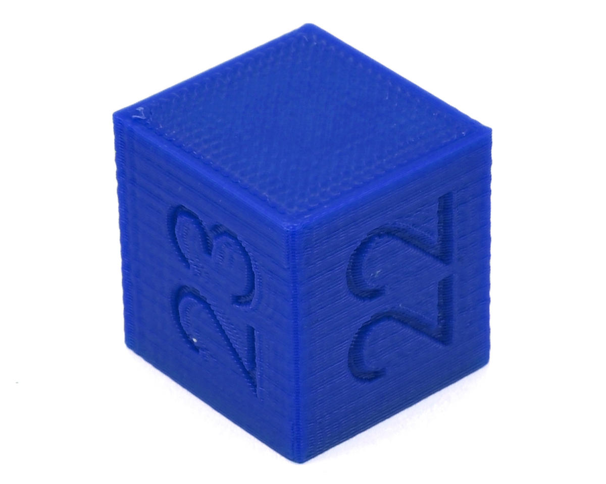 Raw Speed RC Ride Height Cube (22/23/24mm) (Blue)