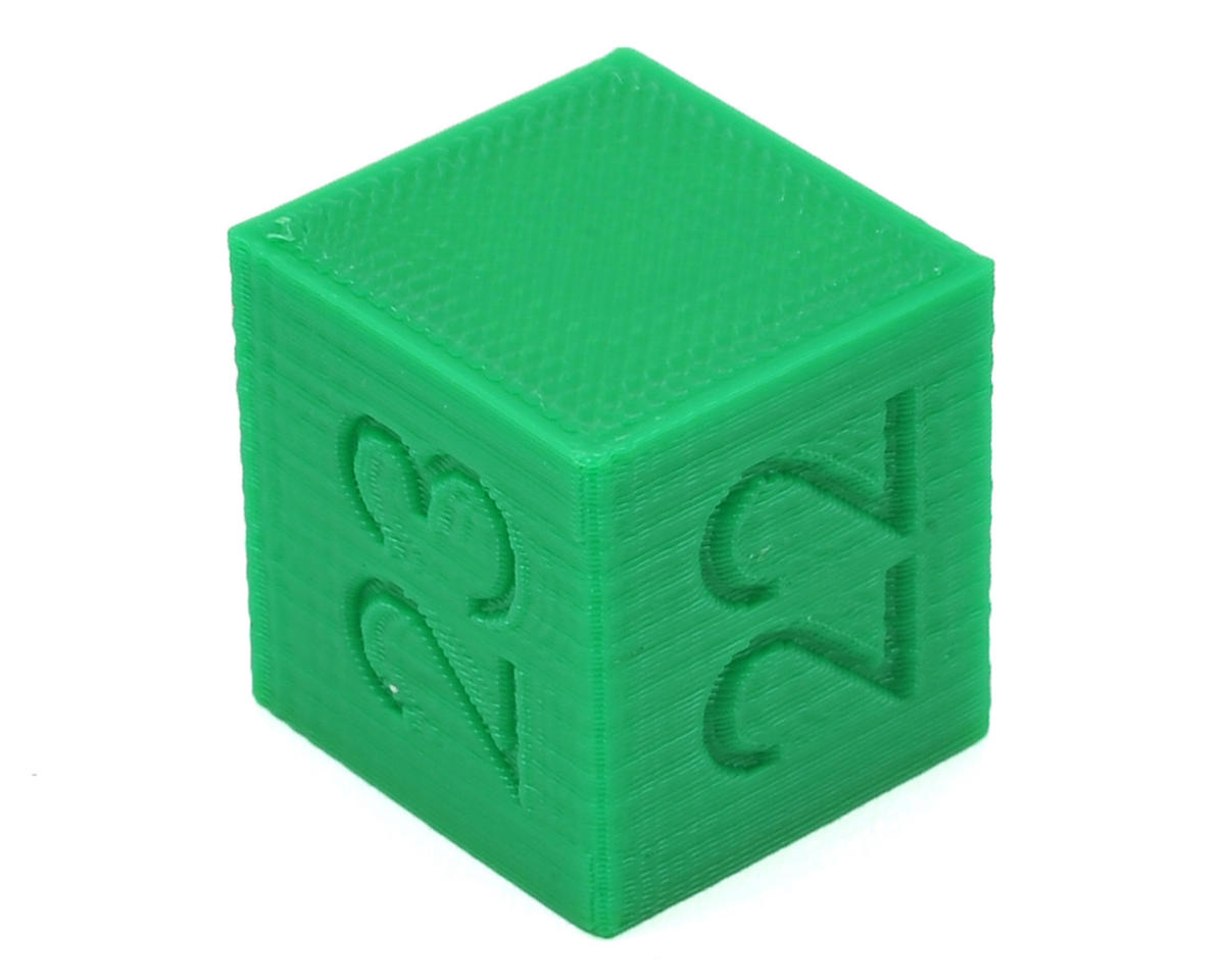 Ride Height Cube (22/23/24mm) (Green) by Raw Speed RC