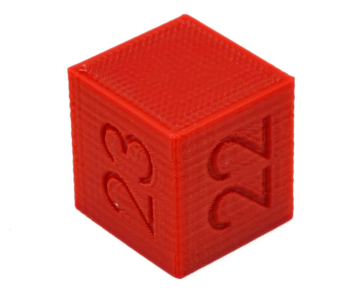 Ride Height Cube (22/23/24mm) (Red) by Raw Speed RC