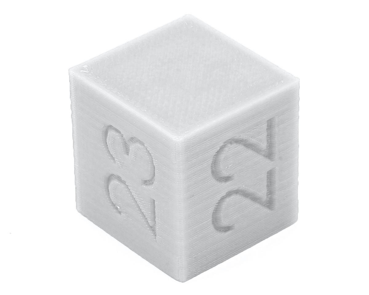 Ride Height Cube (22/23/24mm) (White) by Raw Speed RC
