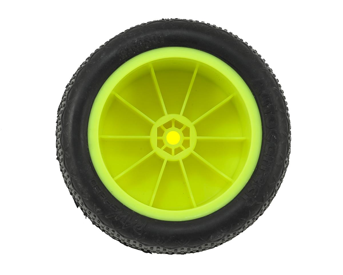 Raw Speed RC Autocorrect 2.2 1/10 Rear Buggy Pre-Mounted Tire (2) (Clay)