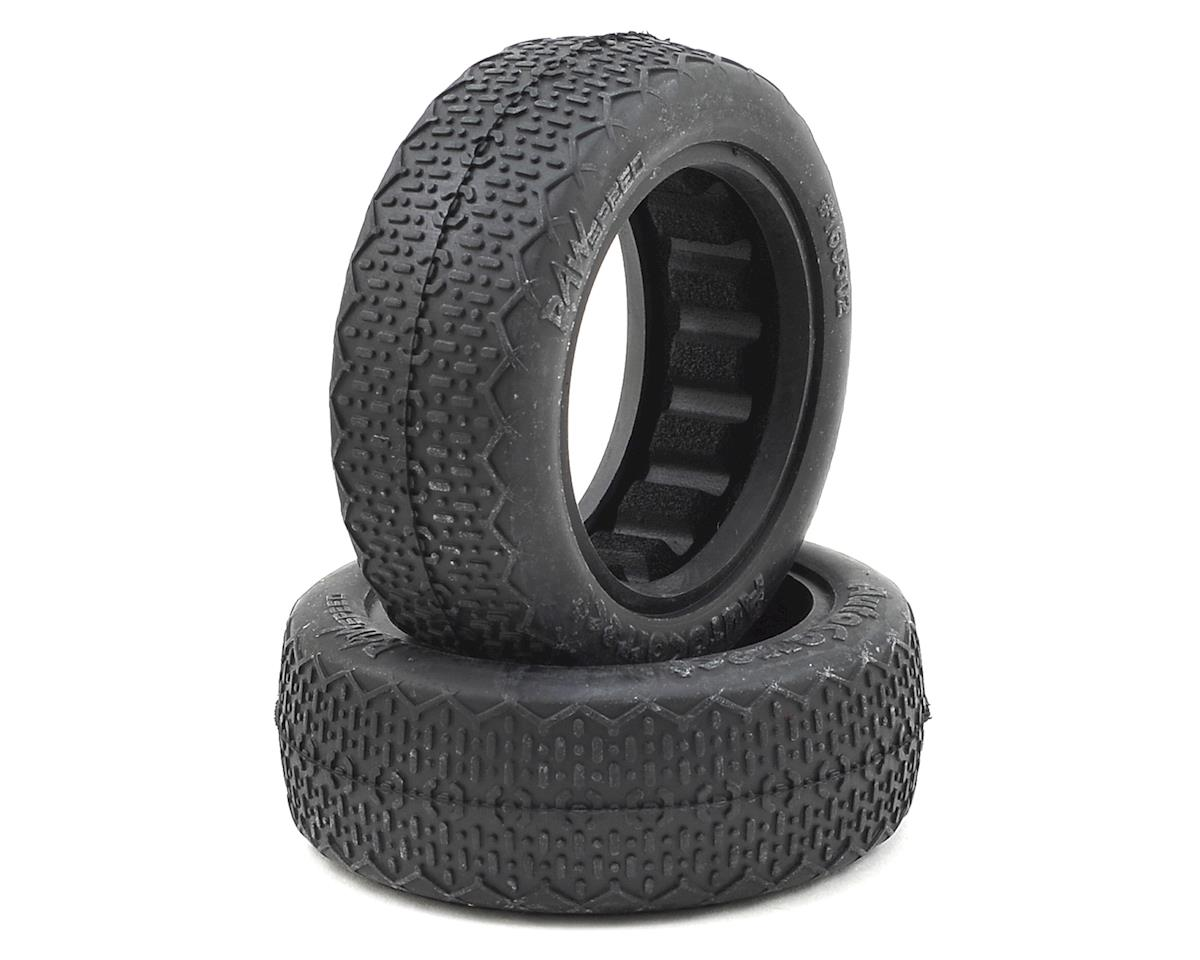 "Raw Speed RC Autocorrect 2.2"" 1/10 2WD Front Buggy Tires (2) (Clay)"
