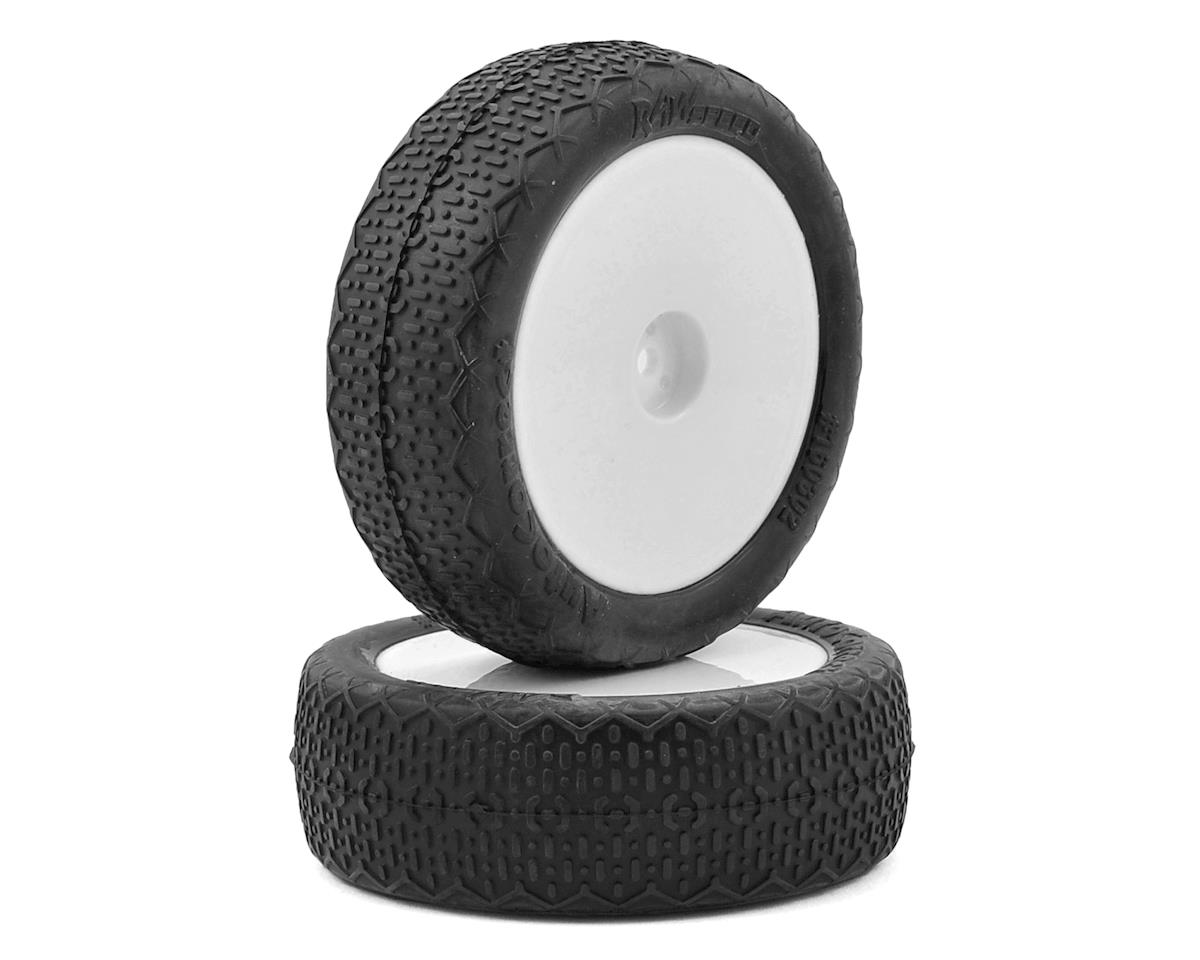 """Raw Speed RC Autocorrect 2.2"""" 1/10 2WD Front Pre-Mounted Tire (White) (2) (Soft)"""
