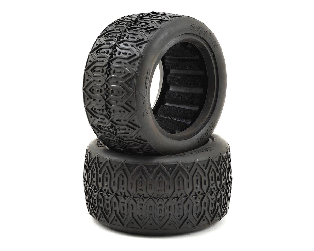 "Raw Speed RC Stage Two 2.2"" 1/10 Rear Buggy Tires (2) (Soft)"