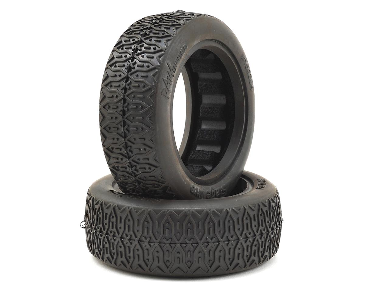 "Raw Speed RC Stage Two 2.2"" 1/10 2WD Front Buggy Tires (2) (Soft)"