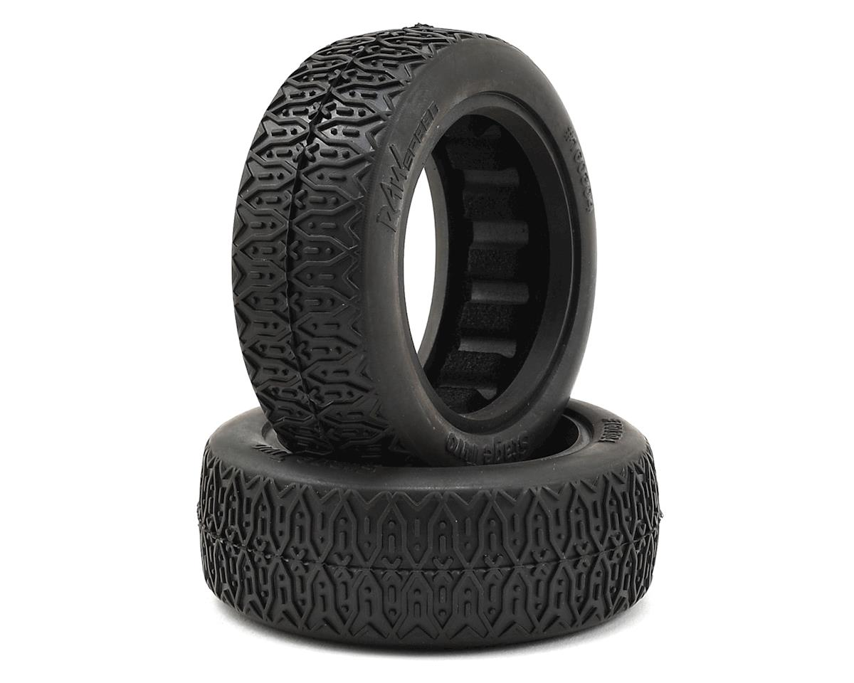 "Raw Speed RC Stage Two 2.2"" 1/10 2WD Front Buggy Tires (2) (Soft - Long Wear)"