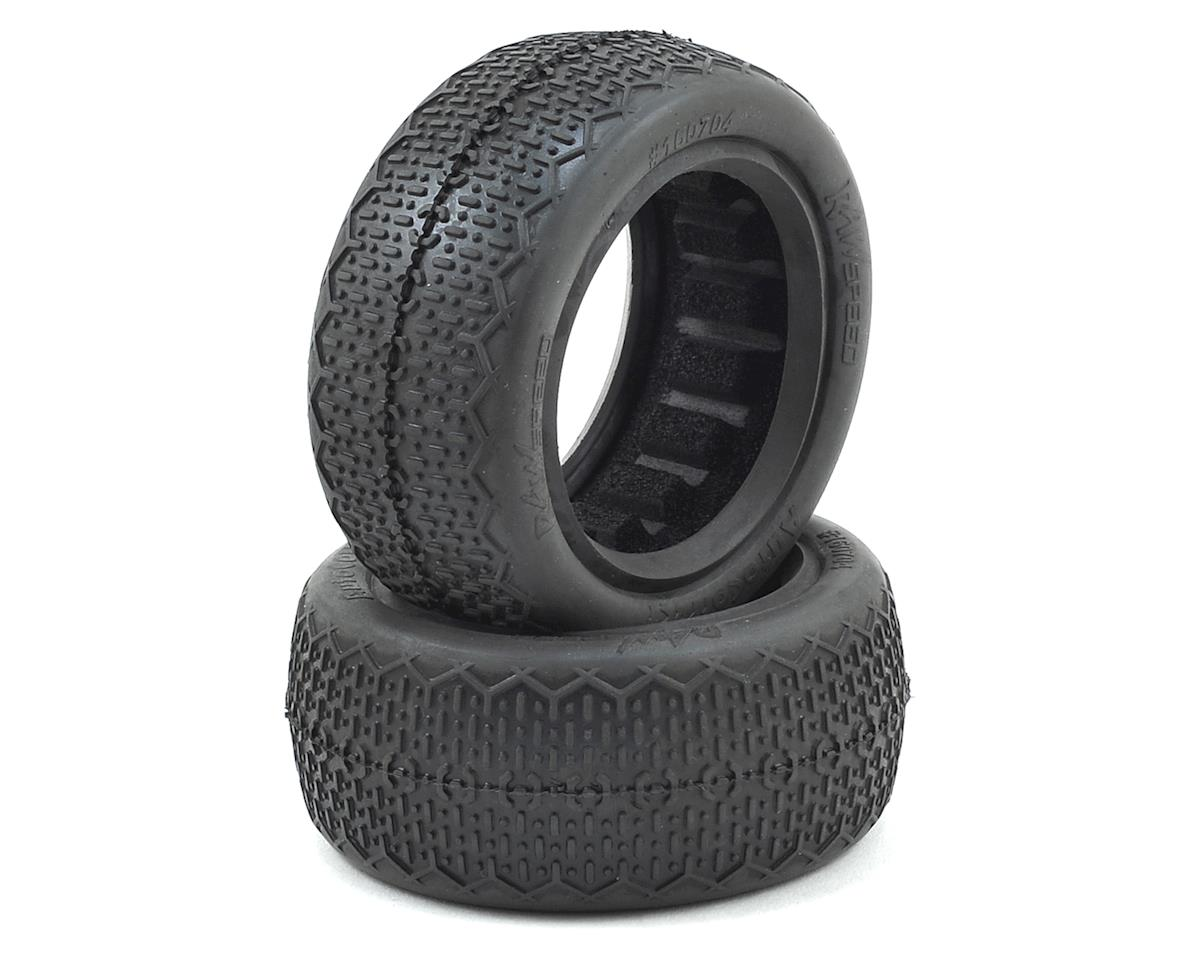 Raw Speed RC Autocorrect Front 4WD Buggy Tires (2) (Clay)