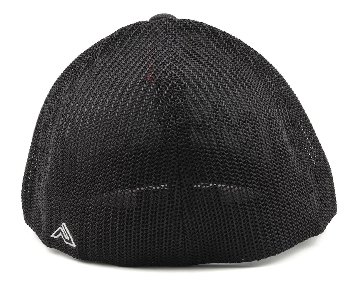 Raw Speed RC Curved Bill Mesh Back Flex Fit Cap (Black) (L/XL)