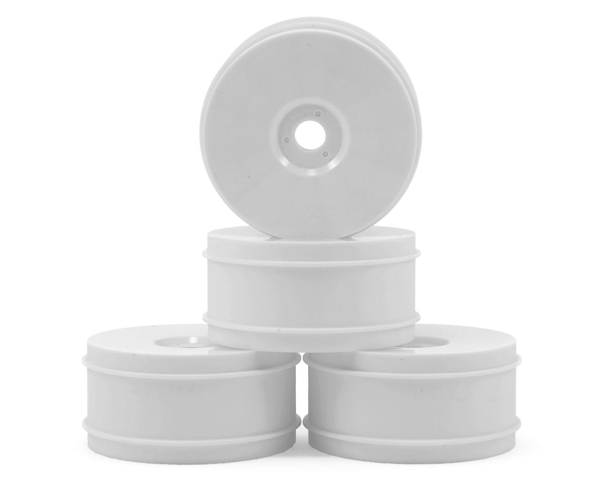 1/8th Off Road Wheel (4) (White) by Raw Speed RC