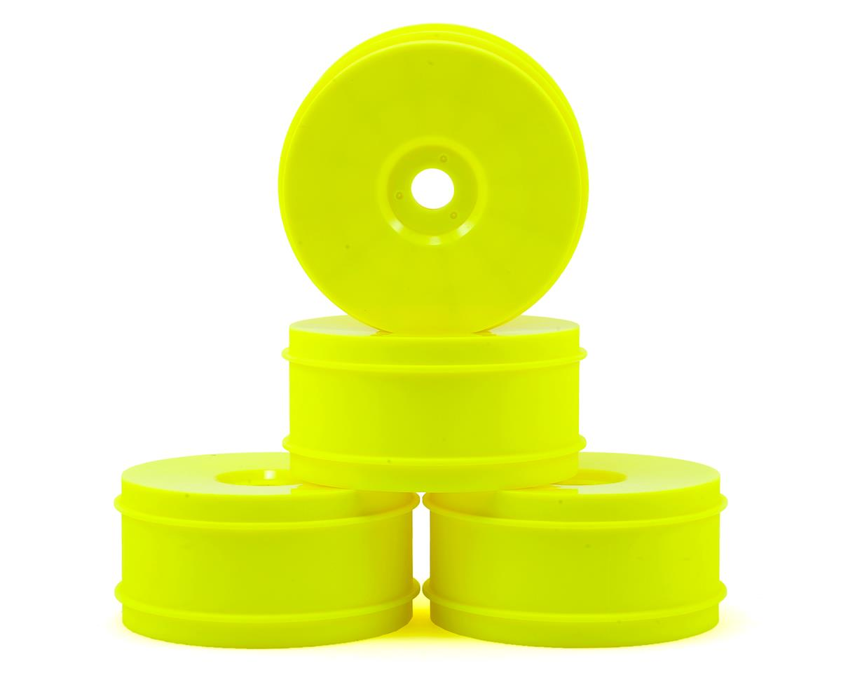 Raw Speed RC 1/8th Off Road Wheel (4) (Yellow)
