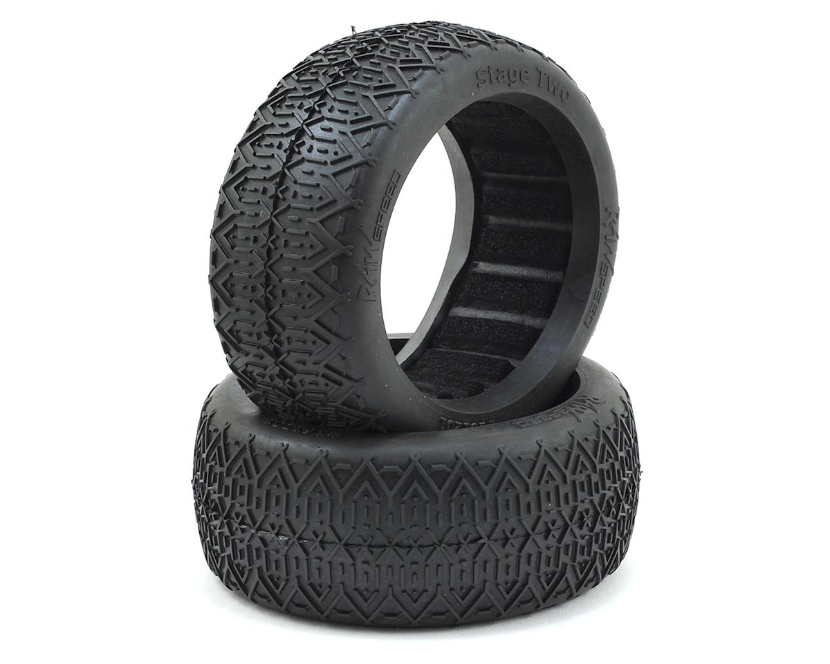 "Raw Speed RC ""Stage Two"" 1/8 Buggy Tires (2)"