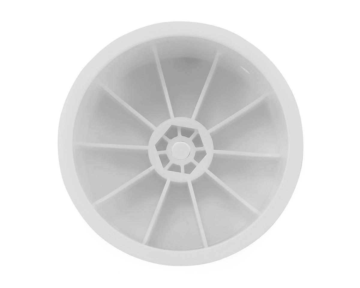 "Raw Speed RC 2.2"" 1/10 Buggy Rear Wheels (White) (2) (TLR/D216)"