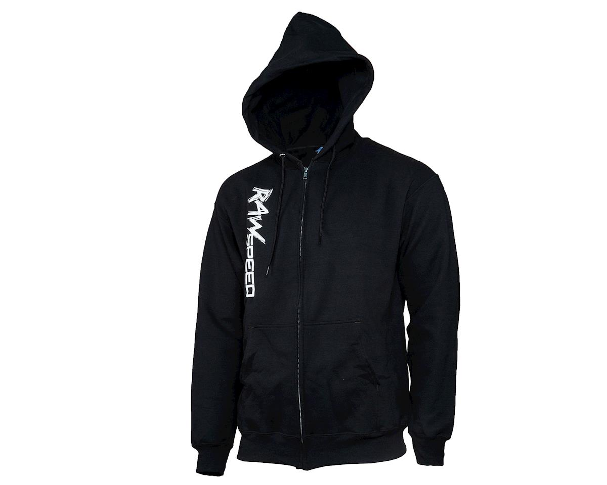 Raw Speed RC Zip Up Hoodie (Black) (M)