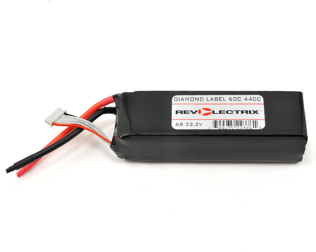Revolectrix Batteries Diamond Label 6S LiPo Battery 60C (22.2V/4400mAh) (JST-XH)
