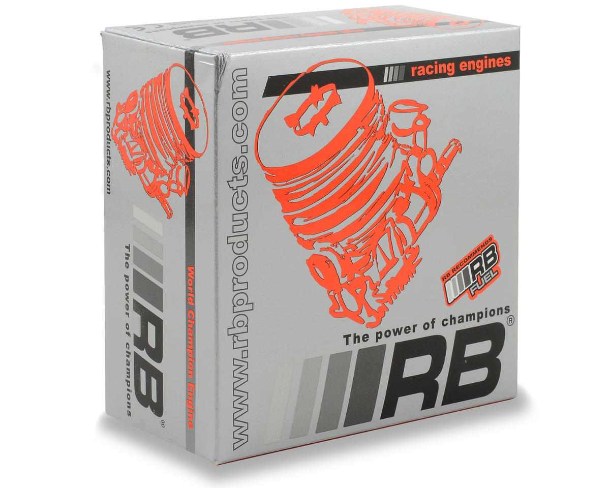 RB Products Circuit 11 .21 9 Port Competition 1/8 On-Road Engine (Turbo Plug)