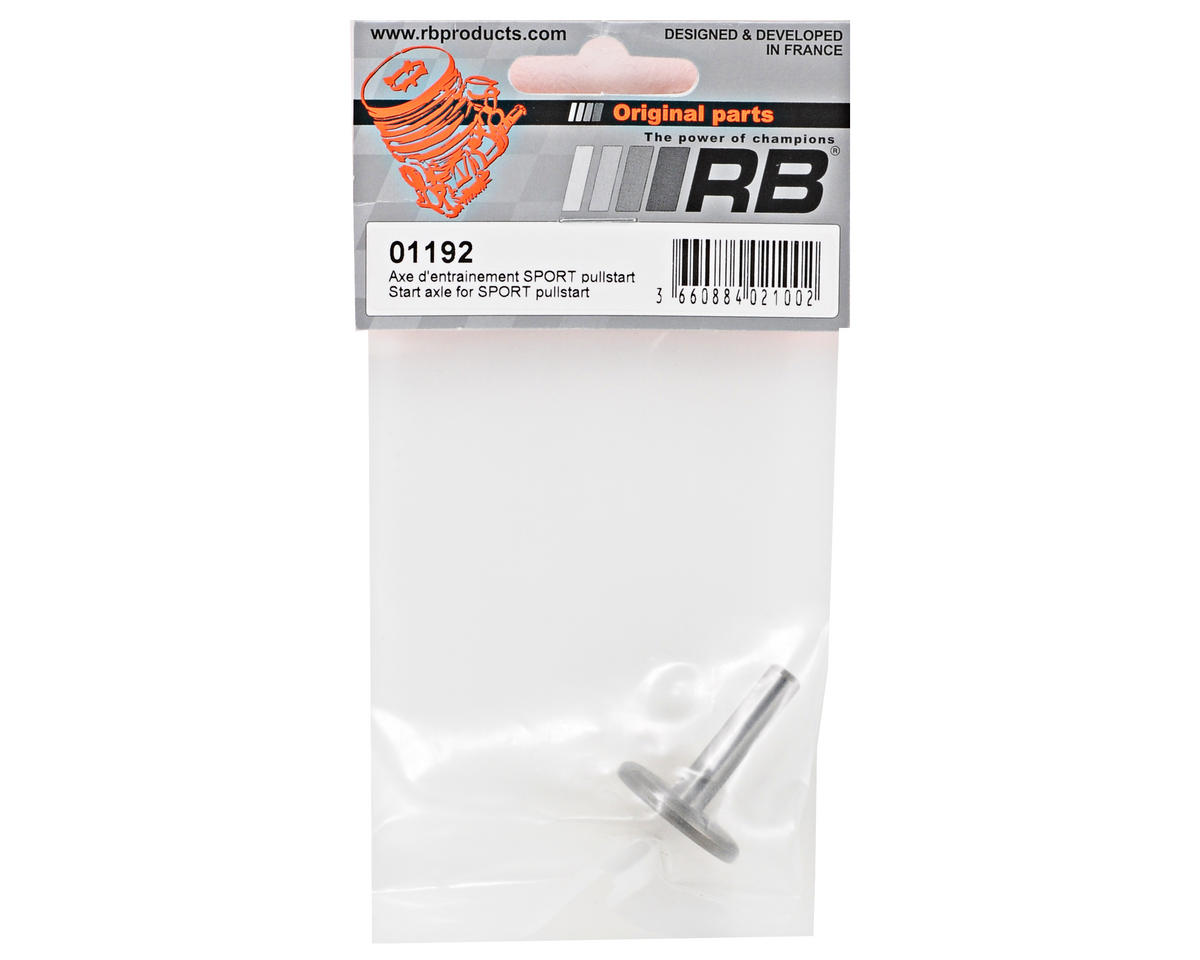 RB Products Start Shaft